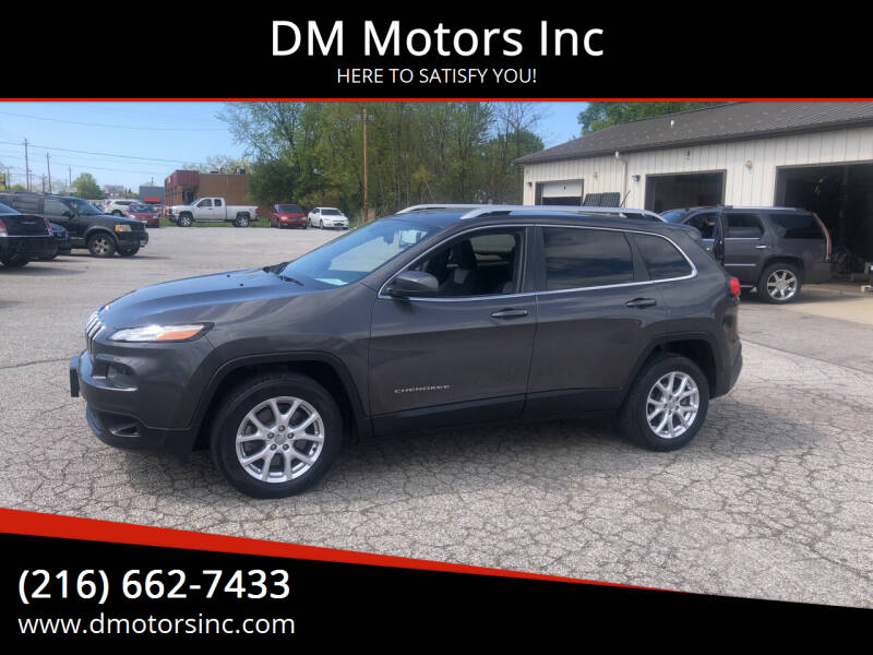 2014 Jeep Cherokee for sale at DM Motors Inc in Maple Heights OH
