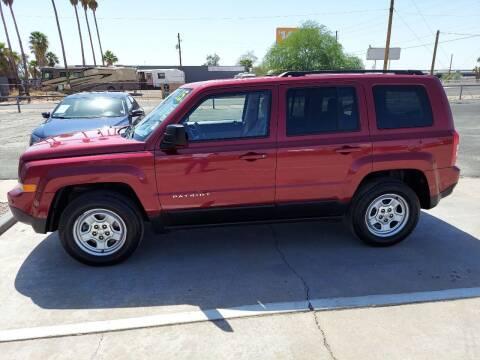 2015 Jeep Patriot for sale at Century Auto Sales in Apache Junction AZ