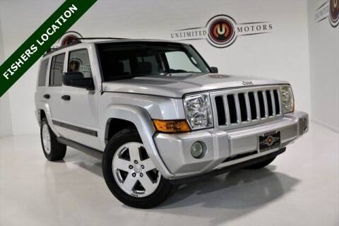 2006 Jeep Commander for sale at Unlimited Motors in Fishers IN