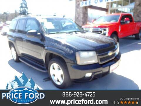 2008 Chevrolet TrailBlazer for sale at Price Ford Lincoln in Port Angeles WA