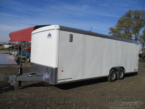 2021 Haul-About Enclosed Cargo LPD8522TA3 for sale at Rondo Truck & Trailer in Sycamore IL