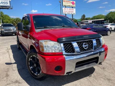 2007 Nissan Titan for sale at Mars auto trade llc in Kissimmee FL