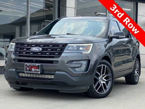 2016 Ford Explorer for sale at Carmel Motors in Indianapolis IN
