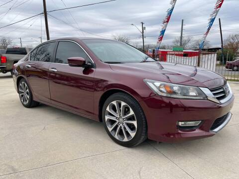2013 Honda Accord for sale at Auto A to Z / General McMullen in San Antonio TX