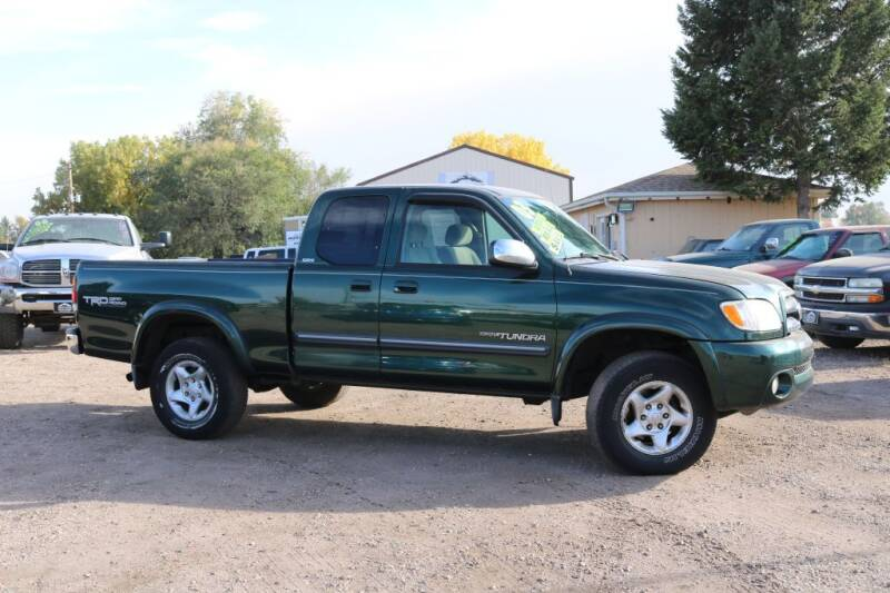 2003 Toyota Tundra for sale at Northern Colorado auto sales Inc in Fort Collins CO