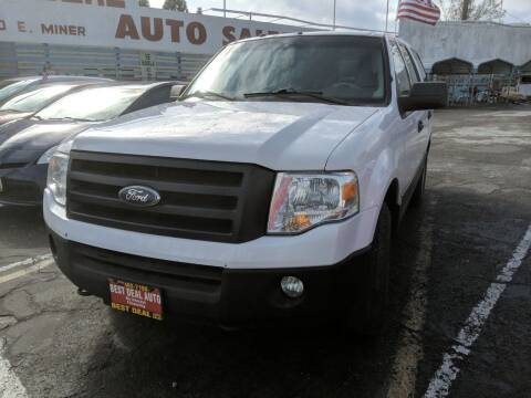 2012 Ford Expedition for sale at Best Deal Auto Sales in Stockton CA