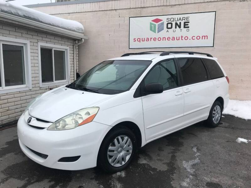 2006 Toyota Sienna for sale at SQUARE ONE AUTO LLC in Murray UT