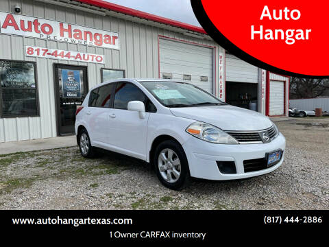 2009 Nissan Versa for sale at Auto Hangar in Azle TX