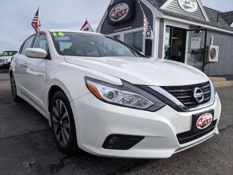 2016 Nissan Altima for sale at Cape Cod Carz in Hyannis MA