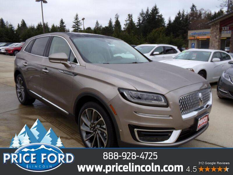 2020 Lincoln Nautilus for sale at Price Ford Lincoln in Port Angeles WA