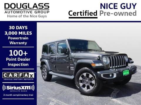 2018 Jeep Wrangler Unlimited for sale at Douglass Automotive Group - Douglas Volkswagen in Bryan TX