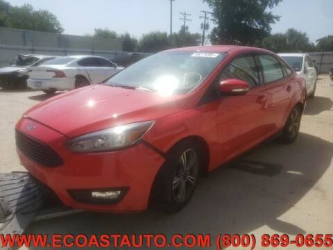 2016 Ford Focus for sale at East Coast Auto Source Inc. in Bedford VA