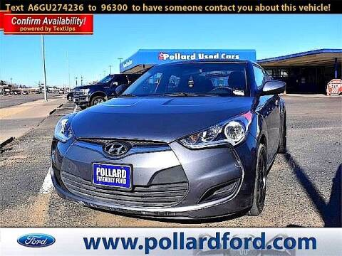2016 Hyundai Veloster for sale at South Plains Autoplex by RANDY BUCHANAN in Lubbock TX