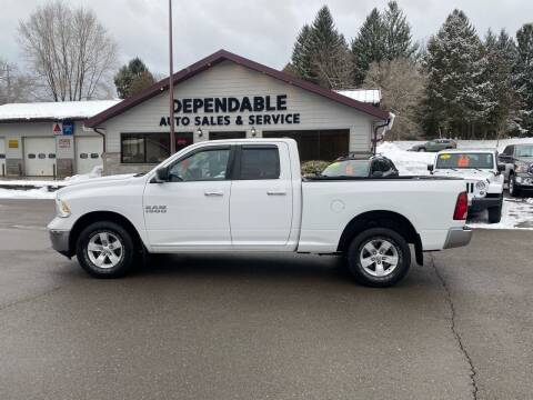 2013 RAM Ram Pickup 1500 for sale at Dependable Auto Sales and Service in Binghamton NY
