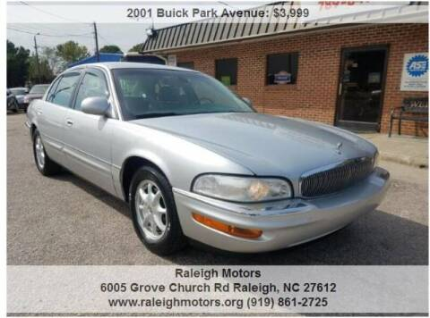 2001 Buick Park Avenue for sale at Raleigh Motors in Raleigh NC
