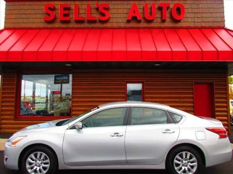 2014 Nissan Altima for sale at Sells Auto INC in Saint Cloud MN
