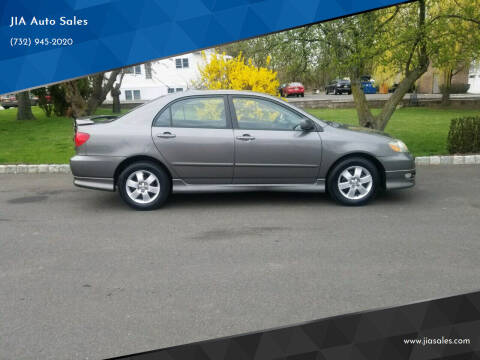 2006 Toyota Corolla for sale at JIA Auto Sales in Port Monmouth NJ