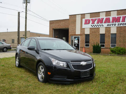 2014 Chevrolet Cruze for sale at DYNAMIC AUTO SPORTS in Addison IL