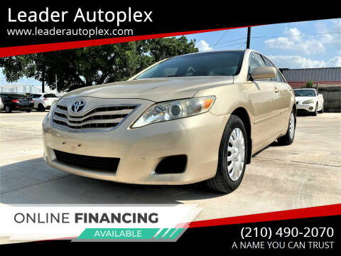 2010 Toyota Camry for sale at Leader Autoplex in San Antonio TX