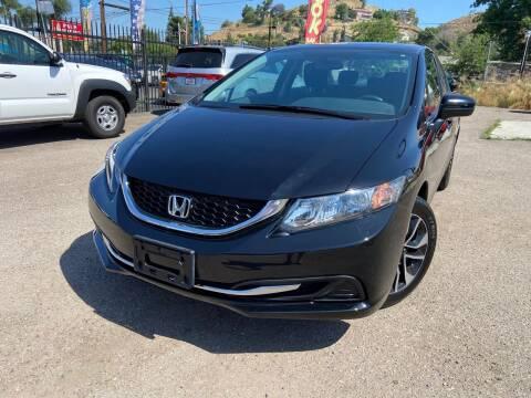 2015 Honda Civic for sale at Vtek Motorsports in El Cajon CA