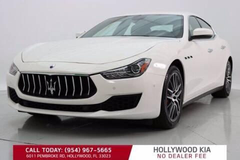 2018 Maserati Ghibli for sale at JumboAutoGroup.com in Hollywood FL