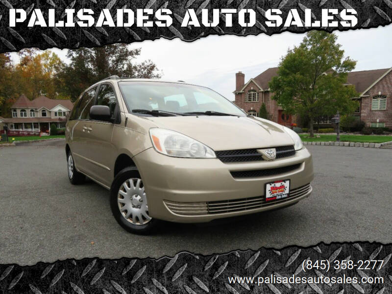 2005 Toyota Sienna for sale at PALISADES AUTO SALES in Nyack NY