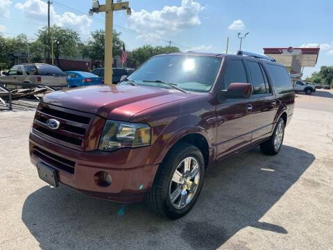 2010 Ford Expedition EL for sale at Friendly Auto Sales in Pasadena TX