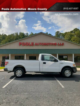 2011 Ford F-150 for sale at Poole Automotive -Moore County in Aberdeen NC