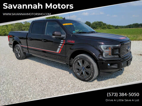 2018 Ford F-150 for sale at Savannah Motors in Elsberry MO
