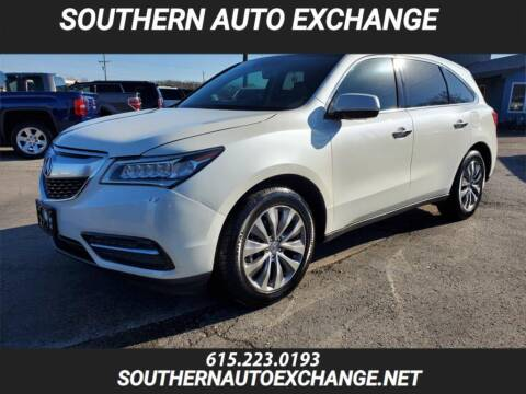 2014 Acura MDX for sale at Southern Auto Exchange in Smyrna TN