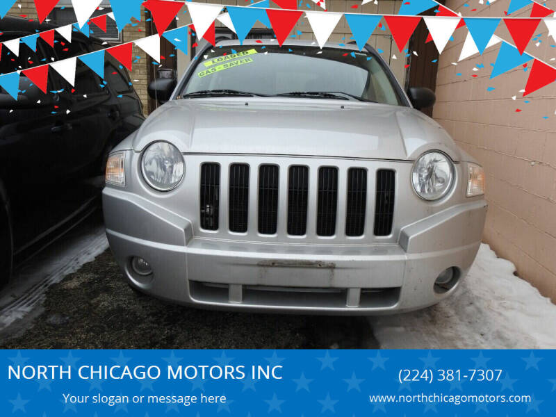 2007 Jeep Compass for sale at NORTH CHICAGO MOTORS INC in North Chicago IL