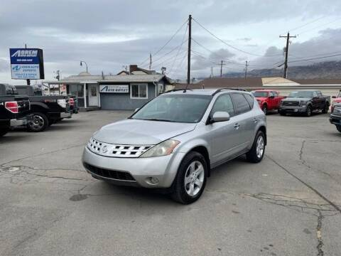2003 Nissan Murano for sale at Orem Auto Outlet in Orem UT