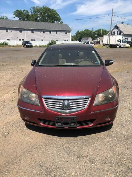 2006 Acura RL for sale at Whiting Motors in Plainville CT