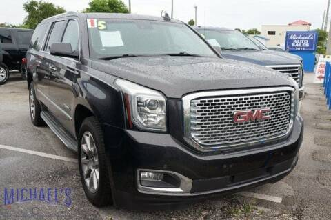 2015 GMC Yukon XL for sale at Michael's Auto Sales Corp in Hollywood FL