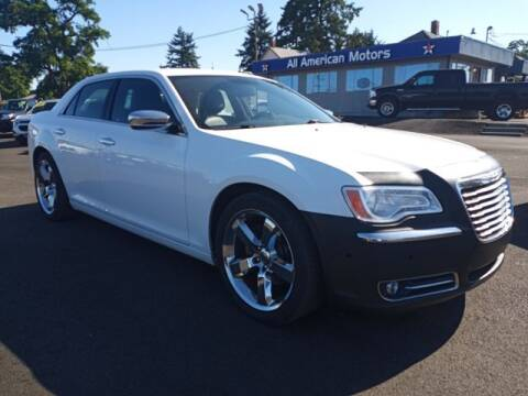 2014 Chrysler 300 for sale at All American Motors in Tacoma WA