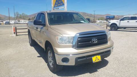 2010 Toyota Tundra for sale at Auto Depot in Carson City NV