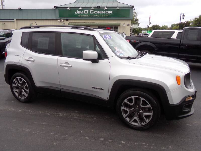 2016 Jeep Renegade for sale at Jim O'Connor Select Auto in Oconomowoc WI