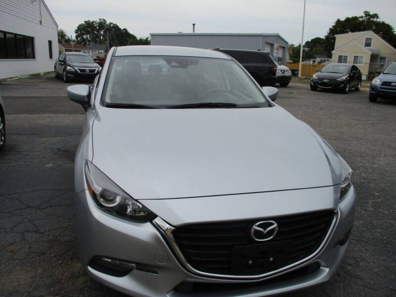 2018 Mazda MAZDA3 for sale at AUTO FACTORY INC in East Providence RI