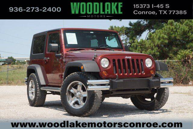 2010 Jeep Wrangler for sale at WOODLAKE MOTORS in Conroe TX