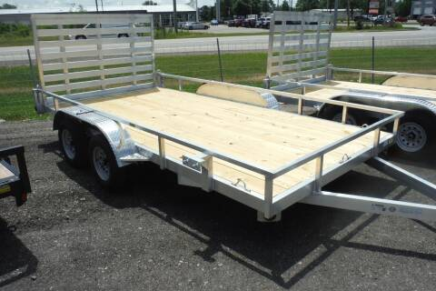2021 Quality Steel 82X14 TANDEM 4000LB for sale at Bryan Auto Depot in Bryan OH