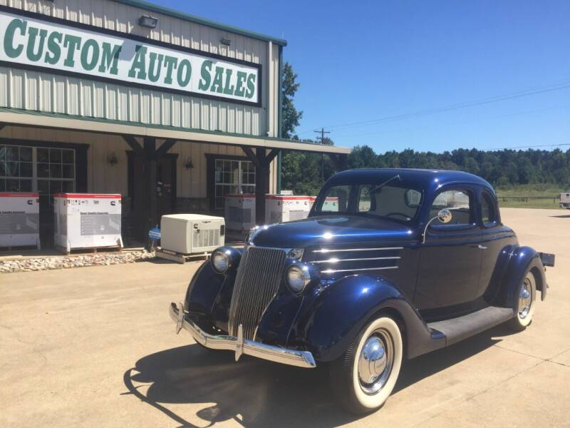1936 Ford Coupe for sale at Custom Auto Sales - AUTOS in Longview TX