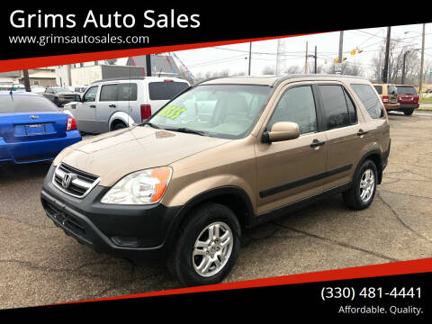 2003 Honda CR-V for sale at Grims Auto Sales in North Lawrence OH