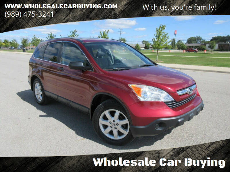 2007 Honda CR-V for sale at Wholesale Car Buying in Saginaw MI