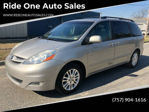 2007 Toyota Sienna for sale at Ride One Auto Sales in Norfolk VA