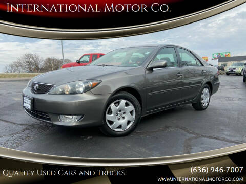 2005 Toyota Camry for sale at International Motor Co. in St. Charles MO