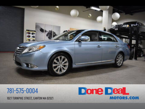 2012 Toyota Avalon for sale at DONE DEAL MOTORS in Canton MA