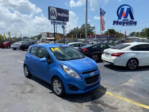 2014 Chevrolet Spark for sale at Auto Mayella in Miami FL