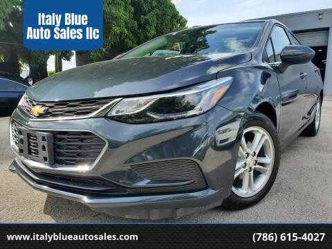 2017 Chevrolet Cruze for sale at Italy Blue Auto Sales llc in Miami FL