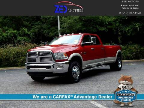 2010 Dodge Ram Pickup 3500 for sale at Zed Motors in Raleigh NC