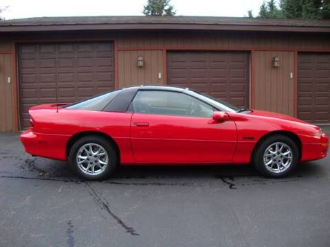 2002 Chevrolet Camaro for sale at G and G AUTO SALES in Merrill WI